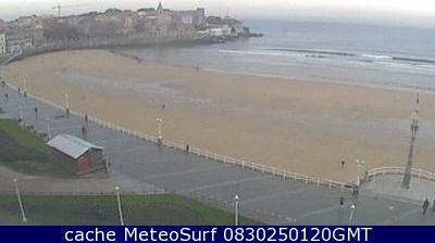 webcam Gijon - San Lorenzo Asturias