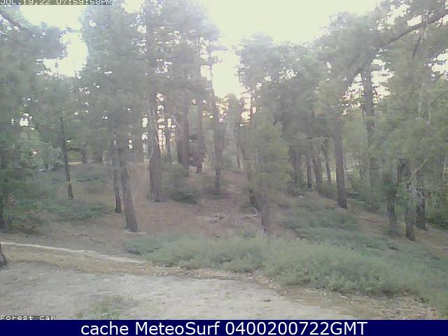 webcam Green Valley Lake San Bernardino