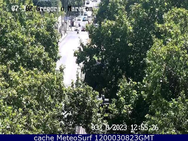 webcam Gregorio Marañon Ciudad de Madrid