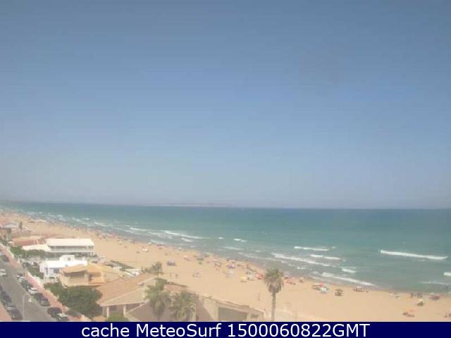 webcam Guardamar del Segura Alicante