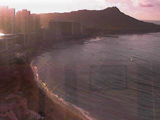 webcam Honolulu Hotel Honolulu