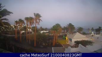 webcam Lanzarote Hotel Las Palmas