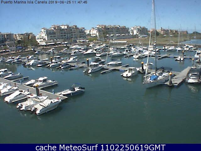 webcam Isla Canela Huelva