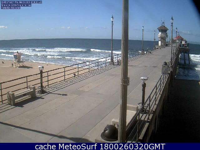 webcam Huntington Beach Pier Orange
