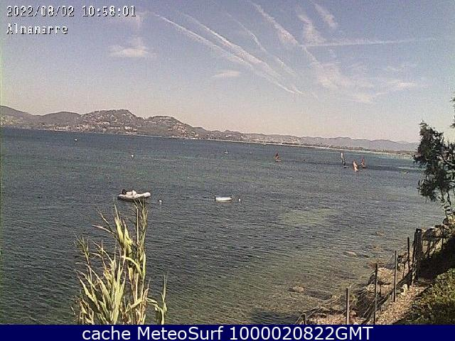 webcam Almanarre Hyeres Toulon Var