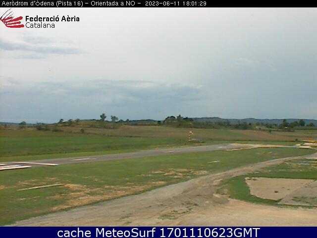 webcam Aerodromo Igualada Barcelona