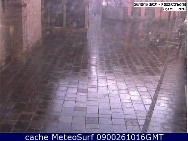 webcam Jaca Plaza Catedral Huesca
