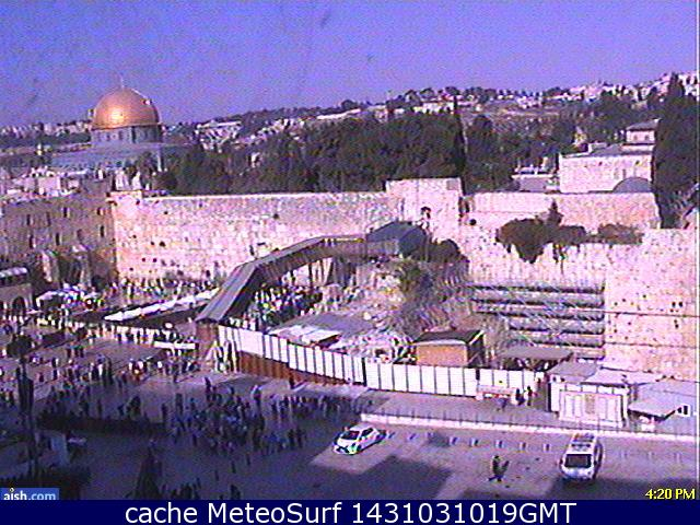 webcam Jerusalem Western Wall Jerusalén