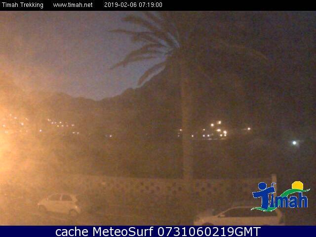 webcam Valle Gran Rey pueblo Santa Cruz de Tenerife