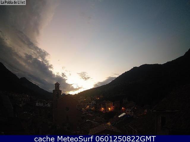 webcam La Pobla de Lillet Barcelona
