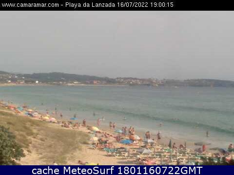 webcam A Lanzada Pontevedra
