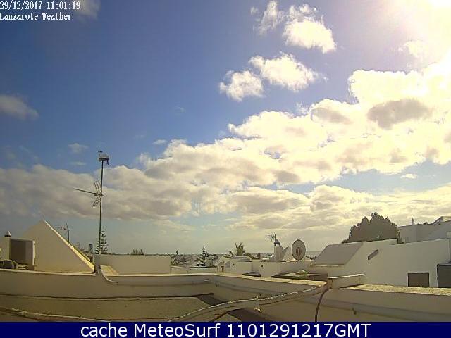 webcam La Garita Arrieta Las Palmas