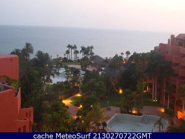 webcam La Caleta Sheraton Santa Cruz de Tenerife