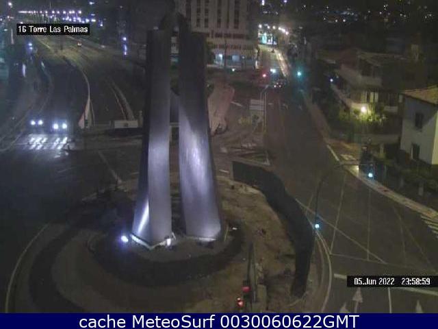webcam Torre de Las Palmas Las Palmas