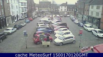 webcam Leek Market West Midlands