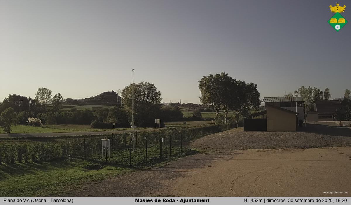 webcam Les Masies de Roda Barcelona