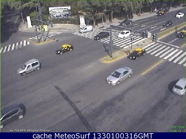 webcam Buenos Aires Av Libertador y Dorrego San Isidro