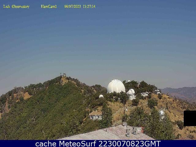 webcam Lick Observatory Santa Clara