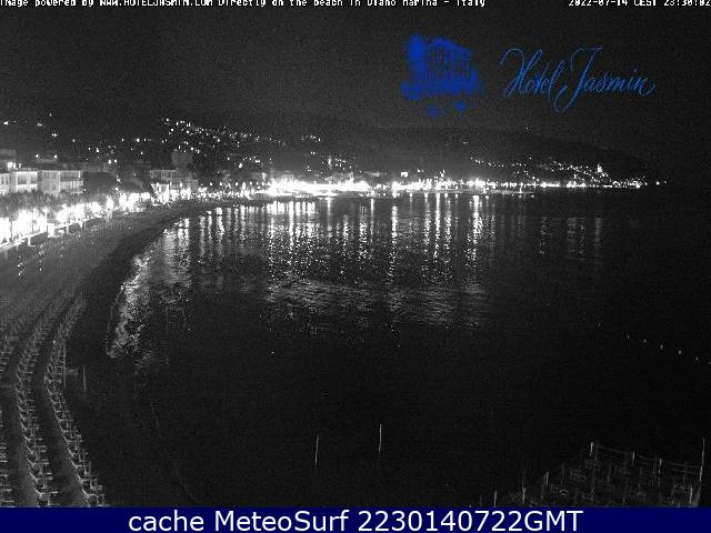 webcam Diano Marina Hotel Imperia