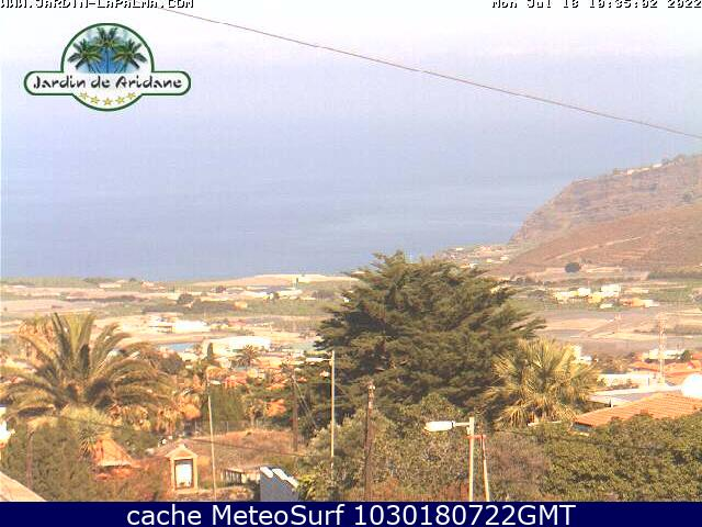 webcam Los Llanos de Aridane Santa Cruz de Tenerife