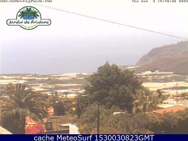 webcam Los Llanos de Aridane Santa Cruz de Tenerife