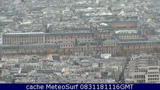 webcam Musée du Louvre Paris