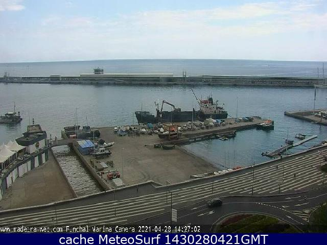 webcam Funchal Harbour