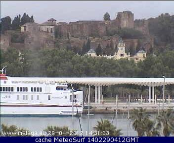 webcam Club Mediterraneo Malaga