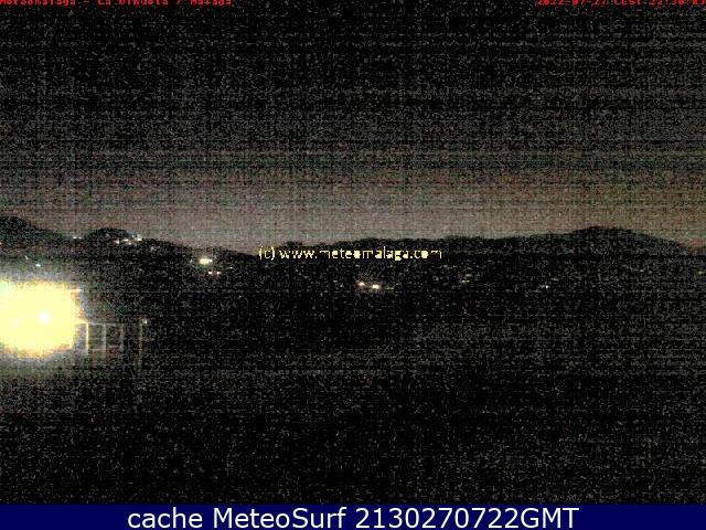 webcam Embalse de la vi�uela, V�lez Malaga