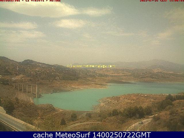 webcam Embalse de la viuela, Vlez Malaga
