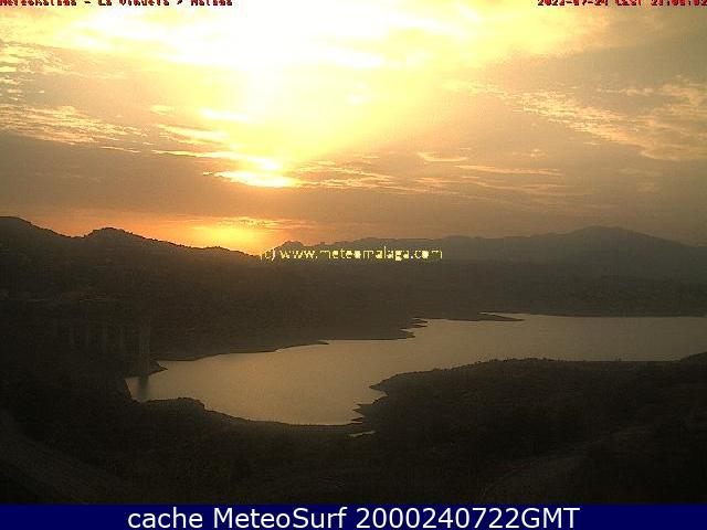 webcam Embalse de la viñuela, Vélez Malaga