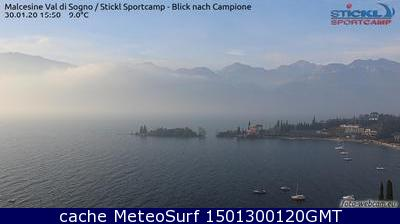 webcam Malcesine Windsurf Verona