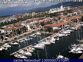 webcam Empuriabrava Marina Gerona