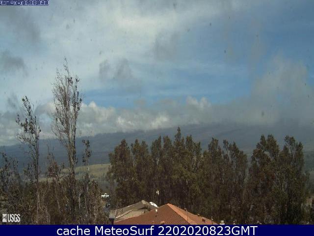 webcam Mauna Loa Volcano Hawái