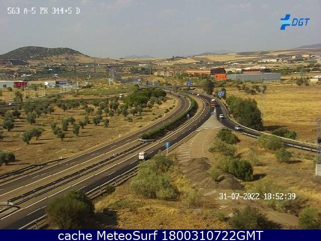 webcam Mérida Badajoz