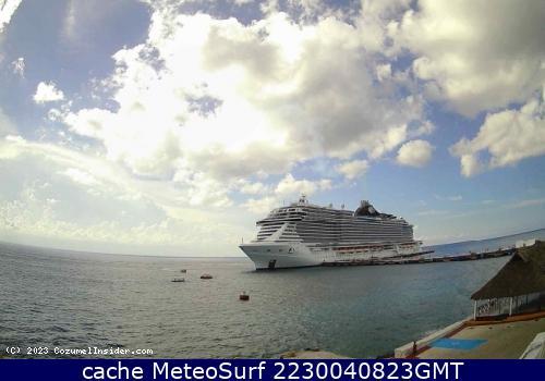 webcam Cozumel Puerto Cozumel
