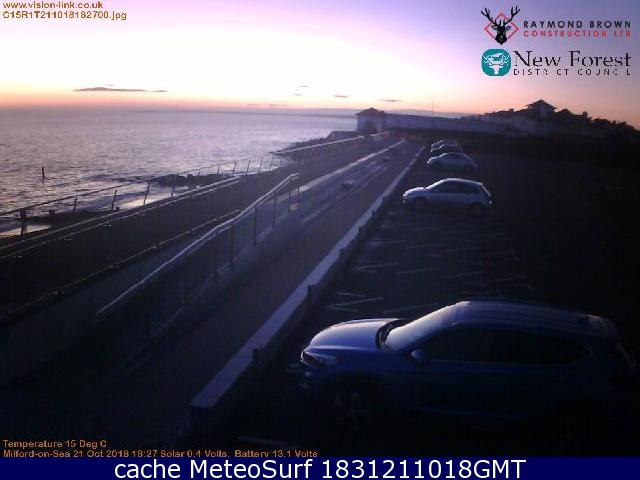 webcam Milford-on-Sea South East