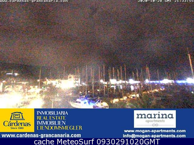 webcam Mogan Puerto Las Palmas