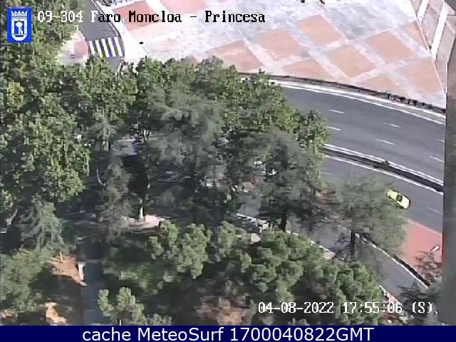 webcam Moncloa Princesa Madrid Ciudad de Madrid