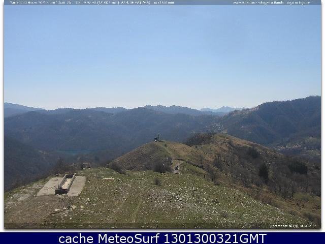 webcam Monte Antola Genova