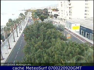 webcam Monte de las tres letras Malaga