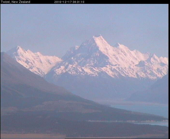 webcam Mt Cook Queenstown-Lakes