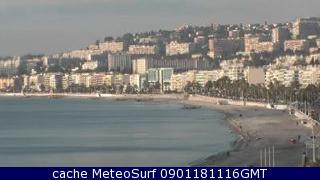 webcam Niza Alpes Maritimes