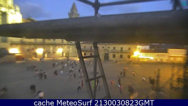 webcam Plaza Obradoiro La Coruña