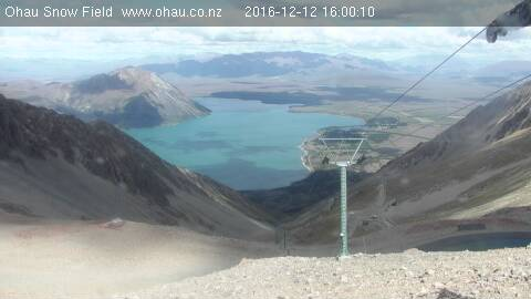 webcam Ohau Lake Queenstown-Lakes