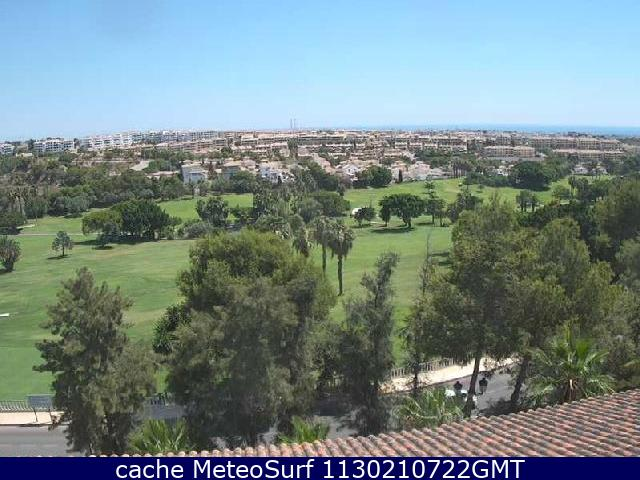 webcam Orihuela Golf Alicante
