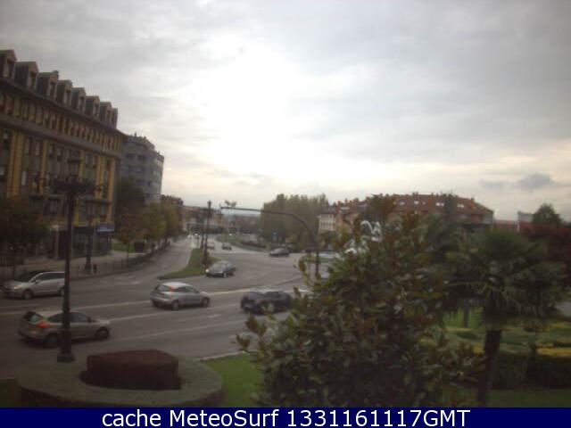 webcam Oviedo Asturias
