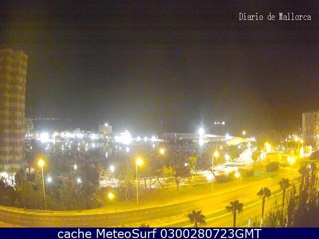 webcam Portixol Bahia de Palma Islas Baleares