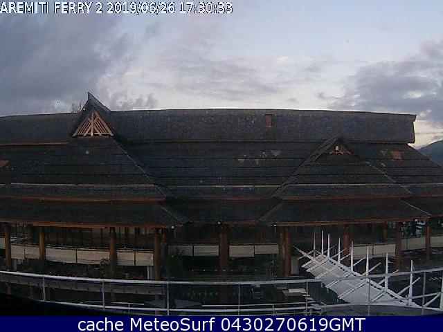 webcam Papeete Port Islas de la Sociedad