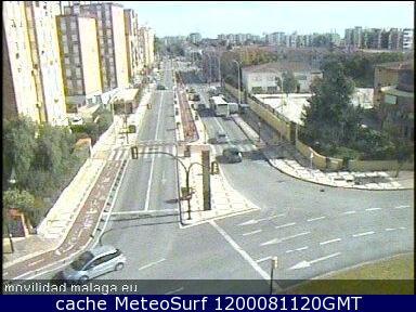 webcam Paseo Antonio Banderas Malaga